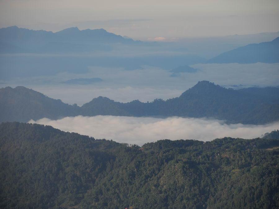 Вид с горы Сесеан