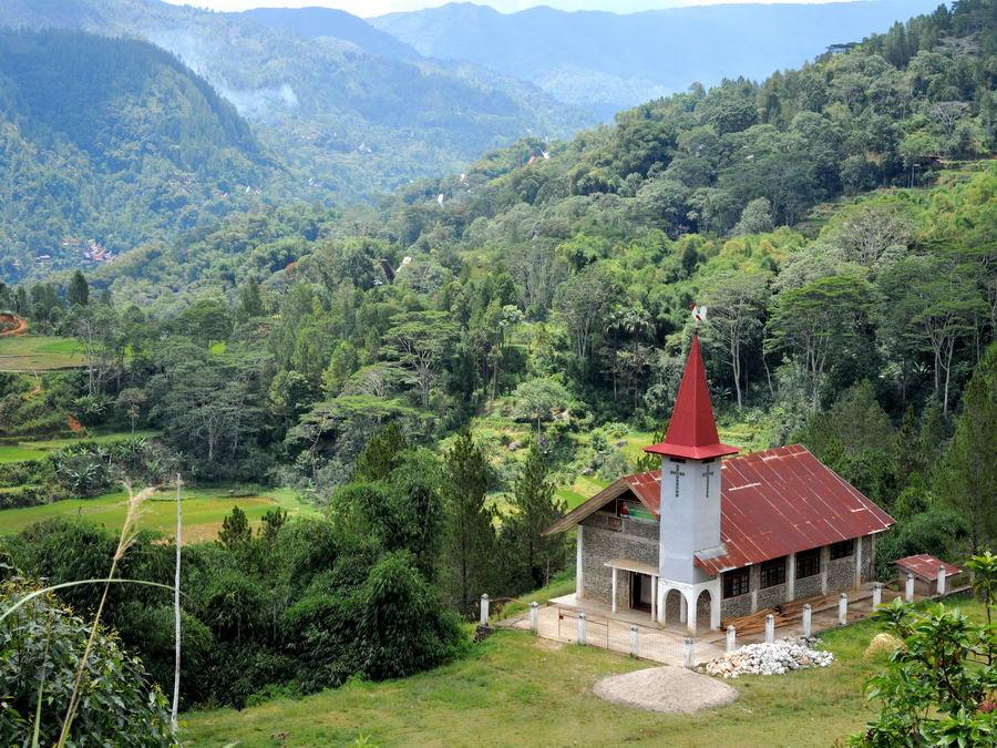 Церковь на Сулавеси