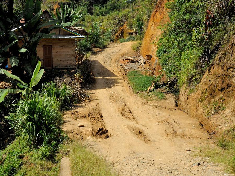 Дорога на Сулавеси