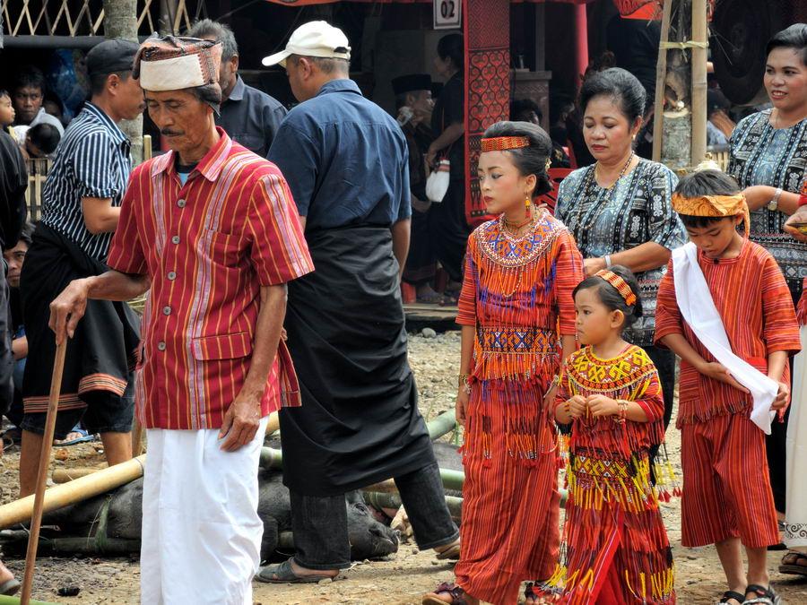 Традиционная одежда народов тораджи