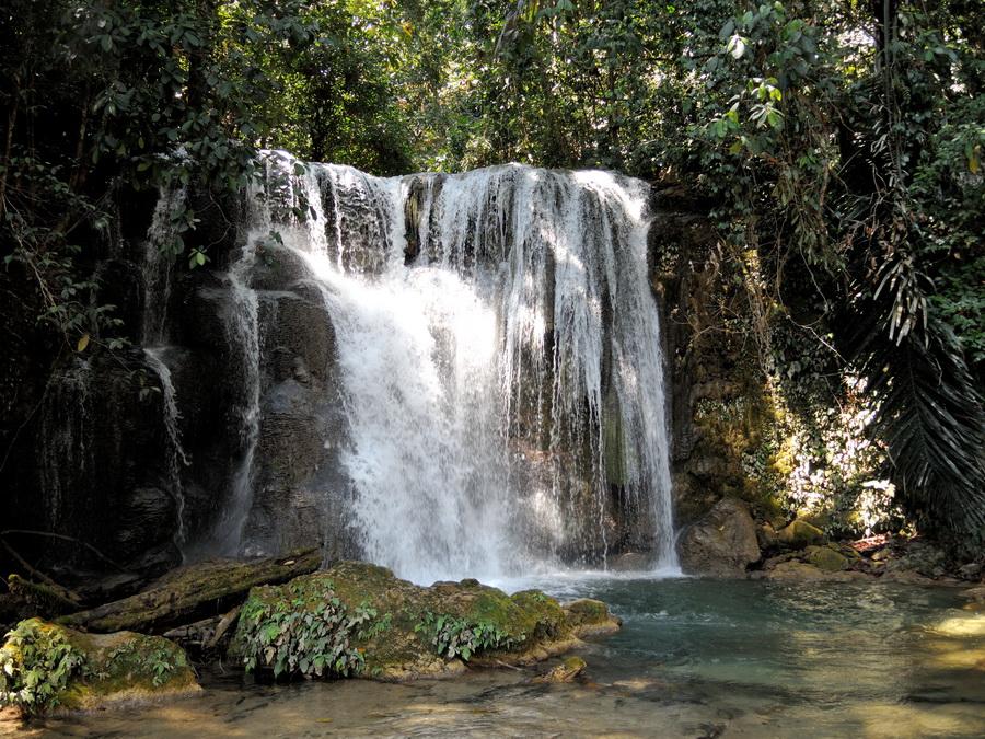 Водопад Салопа