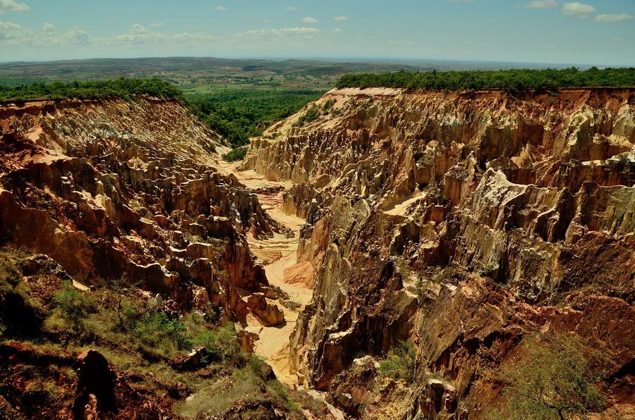Каньон Анкарафанцик Национальный парк Анкарафанцика на Мадагаскаре DSC 3962