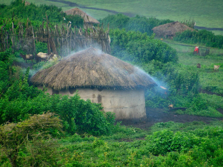 Деревня масаев