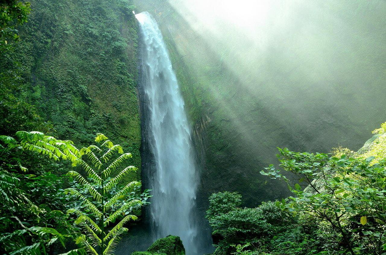 Водопад Кабут Пеланги