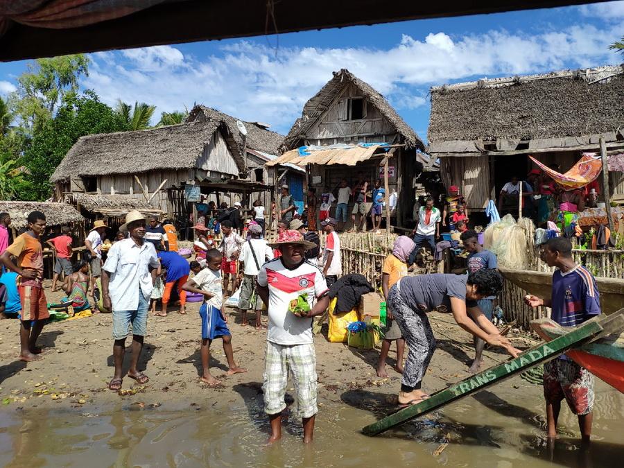 Деревня на Мадагаскаре